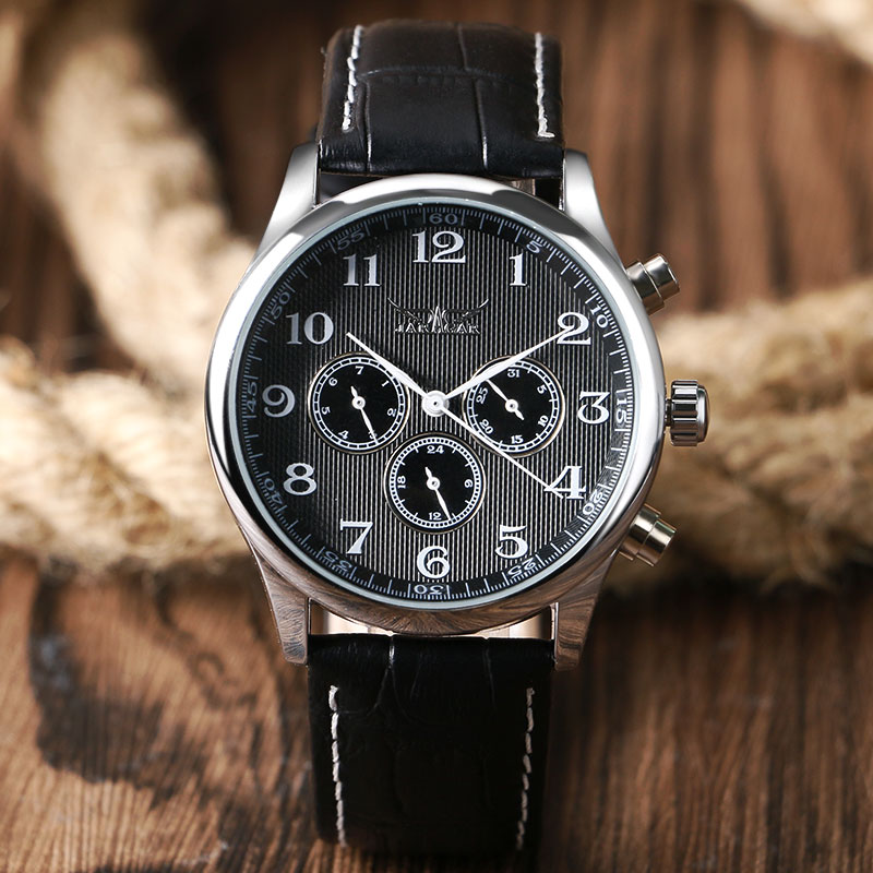 2017 New JARAGAR Luxury Automatic Mechanical Self-wind Watch Men Day Date Wristwatch Mens Sport Business Dress Watches Clock dc shoes кеды dc heathrow se 11
