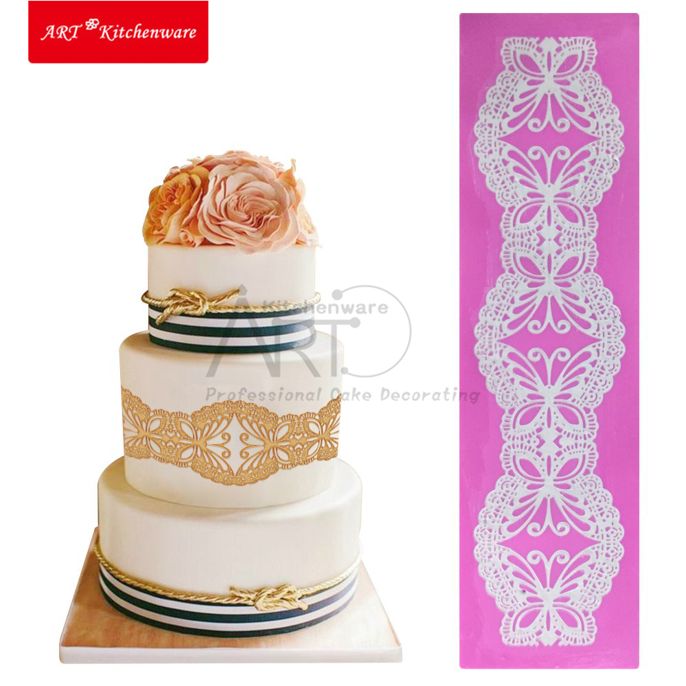 Erfly Silicone Mold Cake Lace Mats Mat Fondant Decorating Tools Wedding