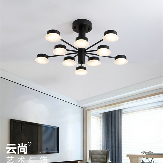 Cafe shop window modern G4 LED luminaria living room ceiling light fixtures Bar Salon led light home office study room led lamp