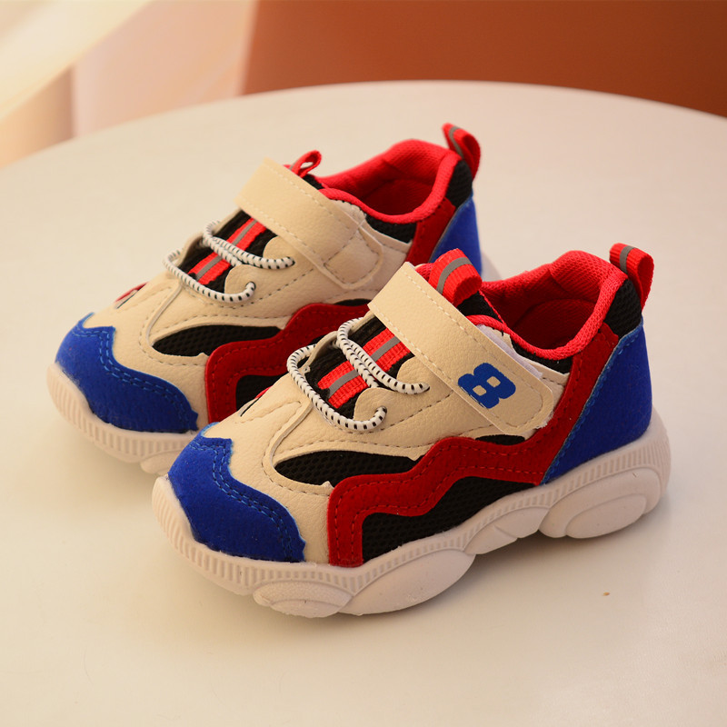 AFDSWG Mesh Breathable Sport Shoe Child Girl Blue Shoes Kids Shoes Pink Casual Shoes For Boys, Chaussure Led Enfant