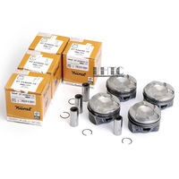 4x Pistons Rings 84mm Φ22mm CR 11:1 Nural Goetze For BMW 220i 320i 420i 520i X1 X3 F22 F23 F30 F10 E84 E89 2.0T 2.0 N20B20B
