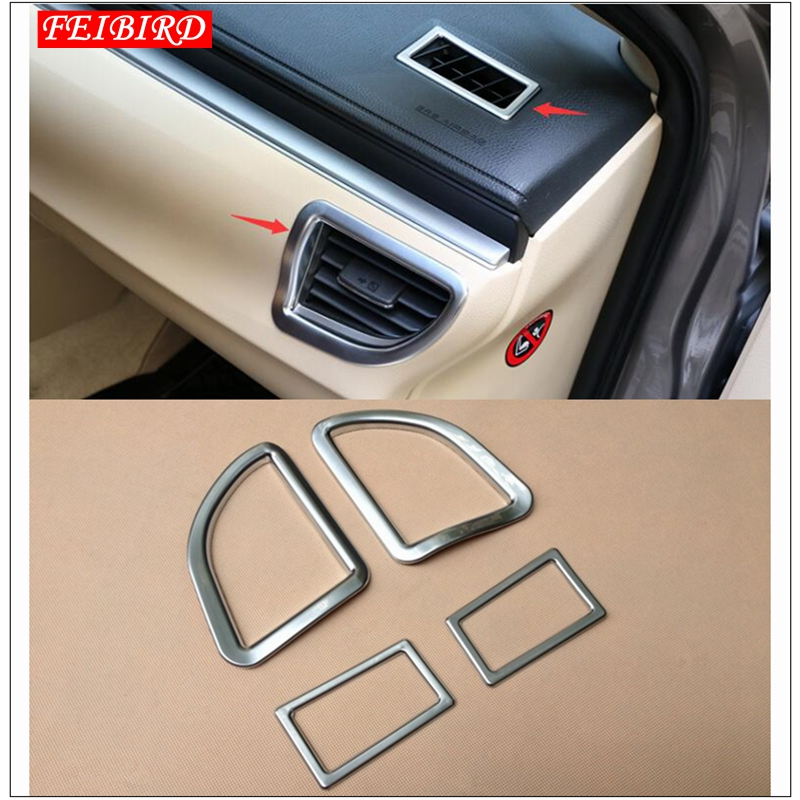 For 2016-2018 Toyota Corolla Interior Dashboard air condition vent cover trim 2p