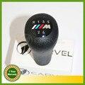 Frete Grátis Para BMW 3 5 7 Serie M E36 E46 E34 E38 M3 M Sport Emblema Emblema Logotipo Do Carro Styling 5 Velocidade Da Engrenagem Vara Alavanca de Câmbio lidar com