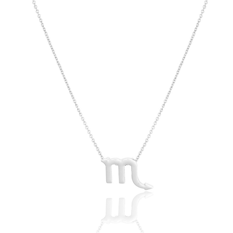 MMC Bijouterie on The Neck for Girls Silver Pendants Necklaces