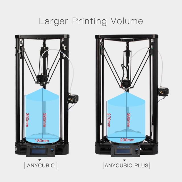 Anycubic 3D Printer impresora 3D Pulley Version Linear Guide imprimante 3d printer diy Large Printing Size
