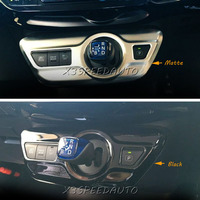 For Toyota Prius XW50 2016 Interior Front Side Air Condition Outlet Cover 1PCS ABS Chromed Matte