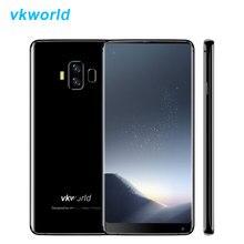 In Stock Vkworld S8 4G LTE 18:9 5.99 Inch Mobile Phone Android 7.0 Octa Core 4G+64G Fingerprint Smartphone 5500mAh 2160*1080 OTG