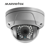 Free Shipping Newest 4MP IP Wdr 120db Camera DS 2CD2142FWD IWS Dome IP Camera POE Onvif