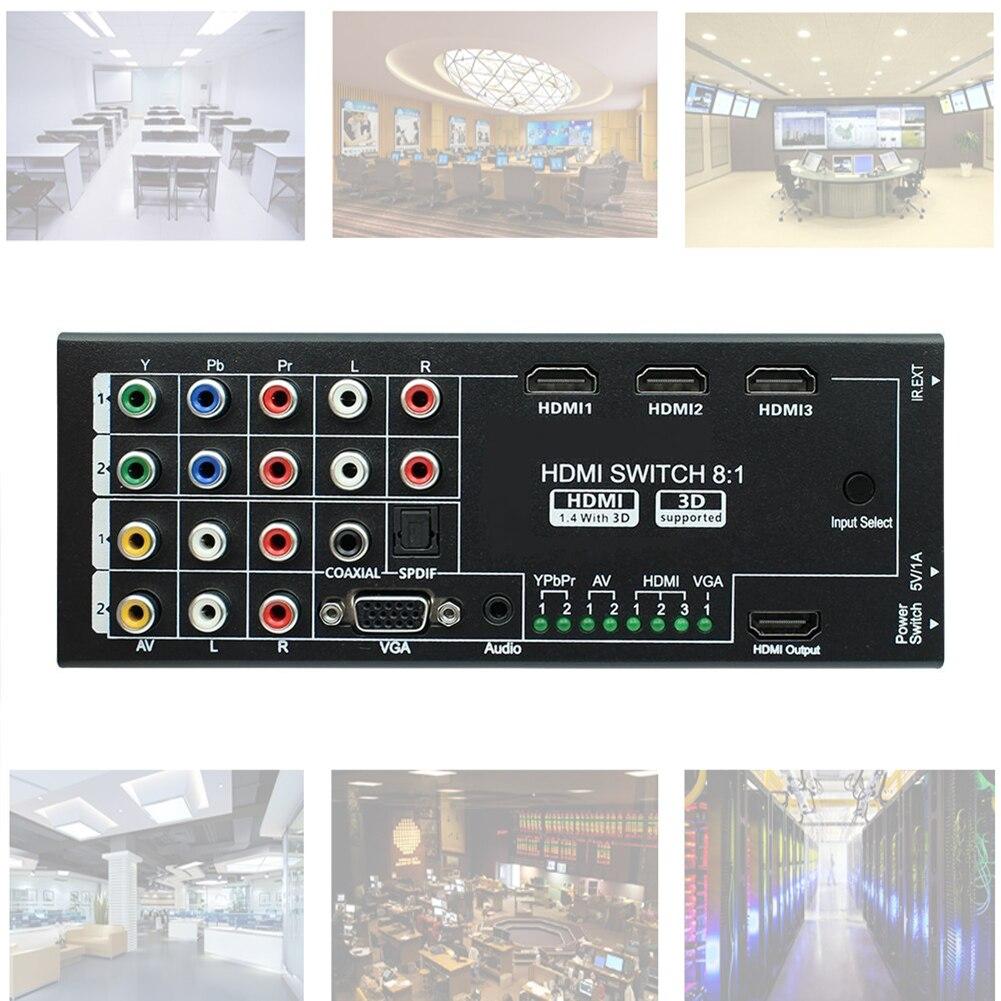 1х8 hdmi switcher цена