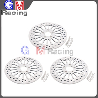 Motorcycle 11.5 Front & Rear Brake Disc Rotor For HARLEY 1984 2013 Touring Sportster Softail Fatboy Dyna Road King Glide