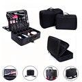 Makeup Bag Makeup Box Multilayer Cosmetic Bag Waterproof Oxford Professional Cosmetic Case Women Makeup Organizer Free Shipping