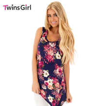 2017 Summer New Plus Size Women Clothing Fashion Style Floral Asymmetric Button Detail Tank Top LC250100 camis tops blusa