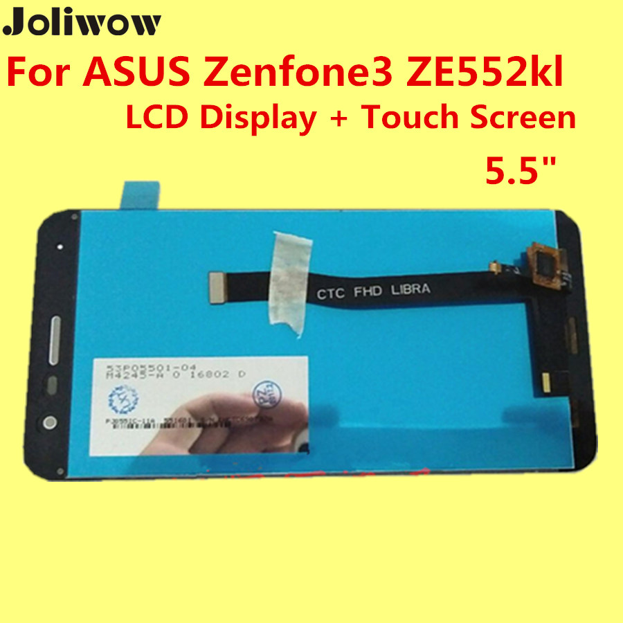 ФОТО High quality For ASUS Zenfone3 ZE552kl  LCD Display + Touch Screen +tools  5.5
