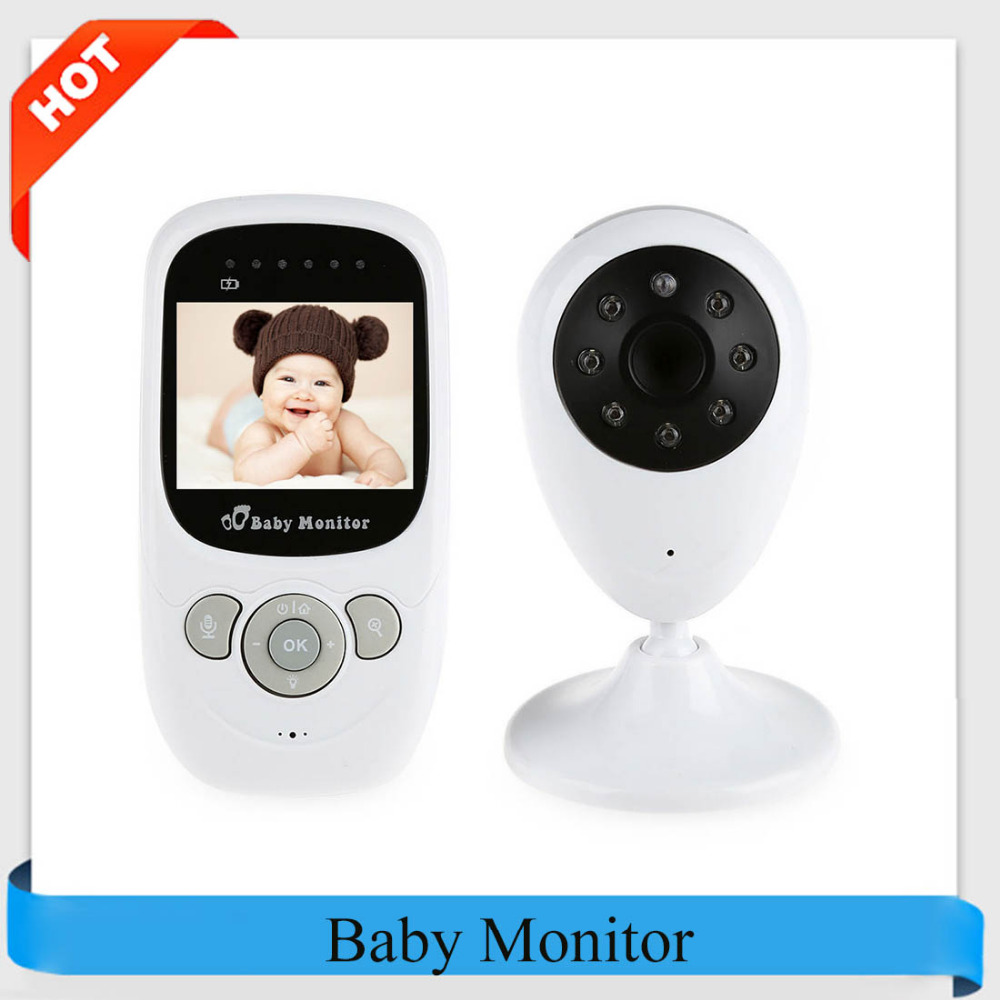 Professional SP880 Wireless Camera Baby Monitor Night Vision Two-way Sleep Monitor 2.4 inch LCD Display Temperature Detection 2017 new gift with uv lamp remote control lcd display automatic vacuum cleaner iclebo arte and smart camera baby pet monitor