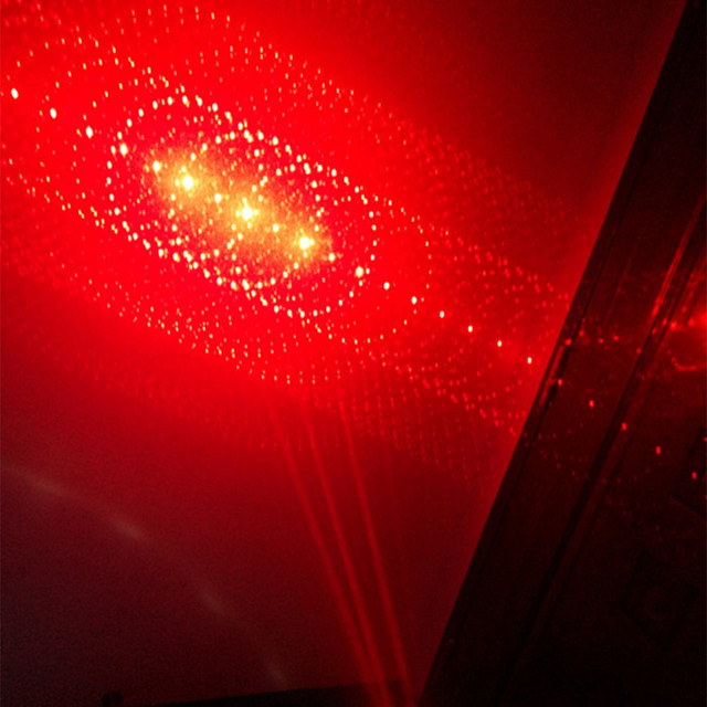 XPL-310H635R600  multi-pattern  635nm red laser pointer