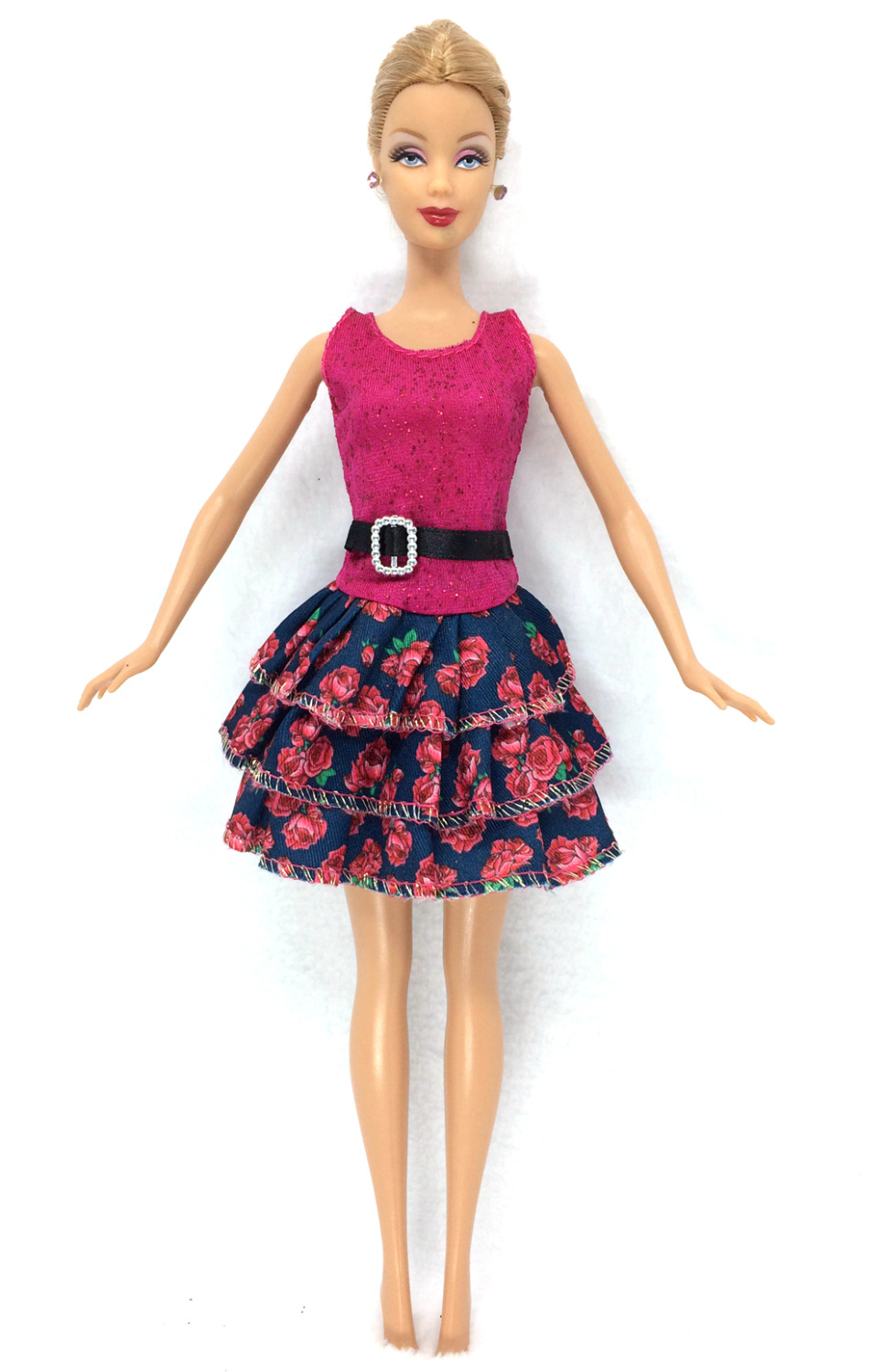 Best Barbie Dolls And Toys : Nk newest doll dress beautiful handmade party