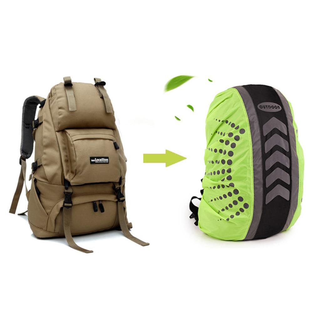 New Reflective 20-55L  Waterproof High Visibility Reflective Bag Backpack Rucksack Rain Cover