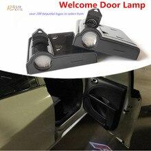Из 2 предметов светодио дный двери автомобиля любезно Призрак Тень Свет лампы лазерный проектор логотип свет для Seat Leon FR + CUPRA Альгамбра Ibiza