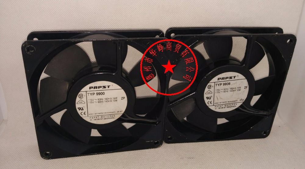 papst 12025 110V 220v TYP9900 TYP9906 4251M uhs4251M cooling fan 9900 9906