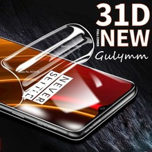 New 31D Curved film For Oneplus 6T6 7 7Pro  Screen Protector Hydration Film One plus 5 5T Full Not Tempered Glass