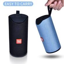 Altavoz Bluetooth TG, altavoz portátil para exteriores, Mini columna inalámbrica 3D 10W, estéreo, música, sonido envolvente, compatibilidad con FM, TFCard, caja de bajo