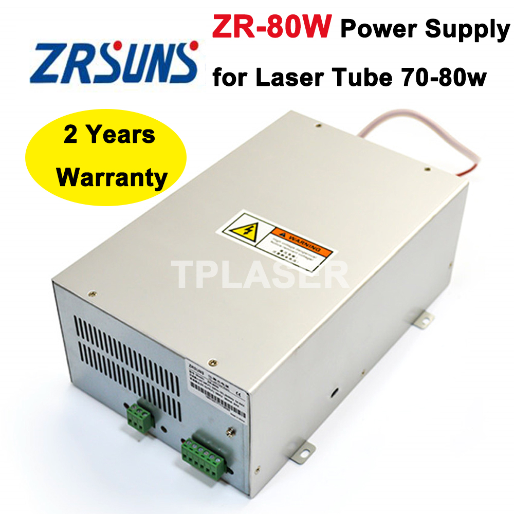 80 watts Laser Power Source for 70W 80W Co2 Glass Laser Tube Engraving and Cutting Machine материнская плата для принтера canon mp259 mp258 mp288 mp236 ip2780