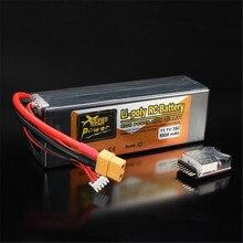 Bateria recarregável Lipo ZOP Poder 11.1 V 5500 mAh 3 S 35C Bateria Lipo XT60 Plug Com Alarme de Bateria
