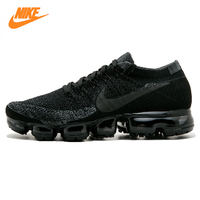 Nike Air Vapormax Flyknit Men's Running Shoes, Black, Breathable, Non Slip, Abrasion resistant Lightweight 899473 003