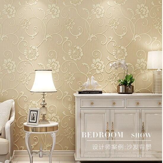 Europa 3d papel pintado floral papel tapiz de tela para paredes moderna entretenimiento papeles - Papel pintado para cocinas modernas ...
