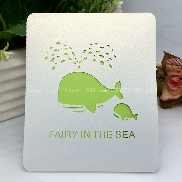 Wedding Decorations 50pcs Laser Cut Pearlscent Paper Custom Greeting Cards Printing Handmade Postcards Birthday Designs 8ZSH266
