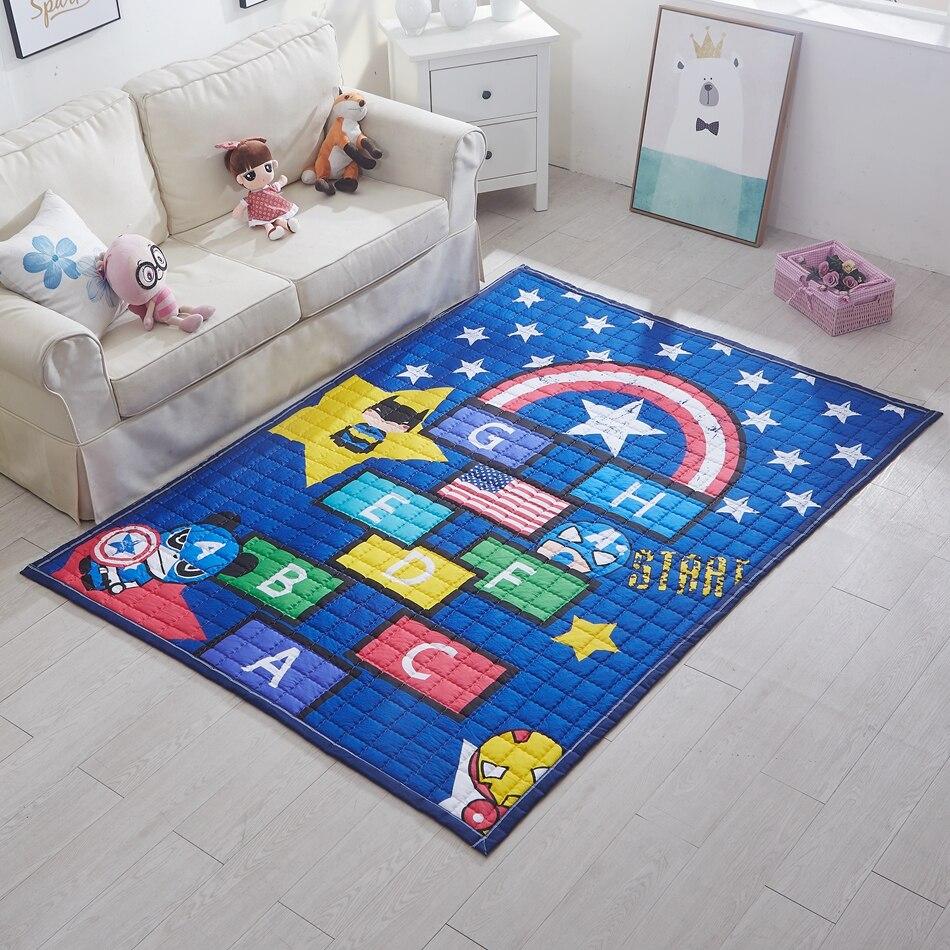 online get cheap blue modern rug aliexpresscom  alibaba group - blue star quilted cotton bedroom play mat for homehero play mat forchildren