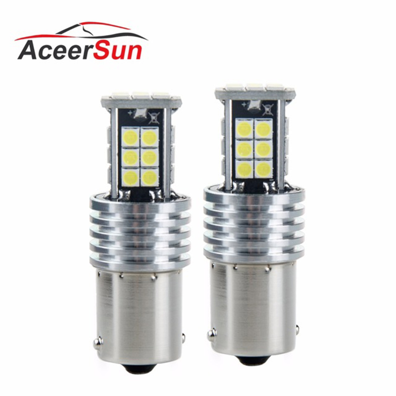 T15 T20 T25 1156 1157 Led car Turn light Signal light Rear lights 12V 3030 SMD chip 5.5W Auxiliary light ampoule Emergency light