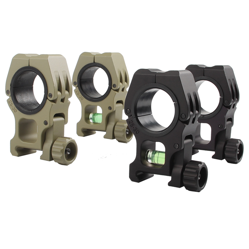 25 30 30 Helloworld: M10 Steel Scope Rings Separate Rifle Scope Mount QD 25mm