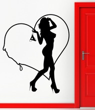 New arrival Sexy Girl Sticker Nude Decal Car Posters Vinyl Wall Decals Pegatina Decor Mural Sexy Girl Club Sticker