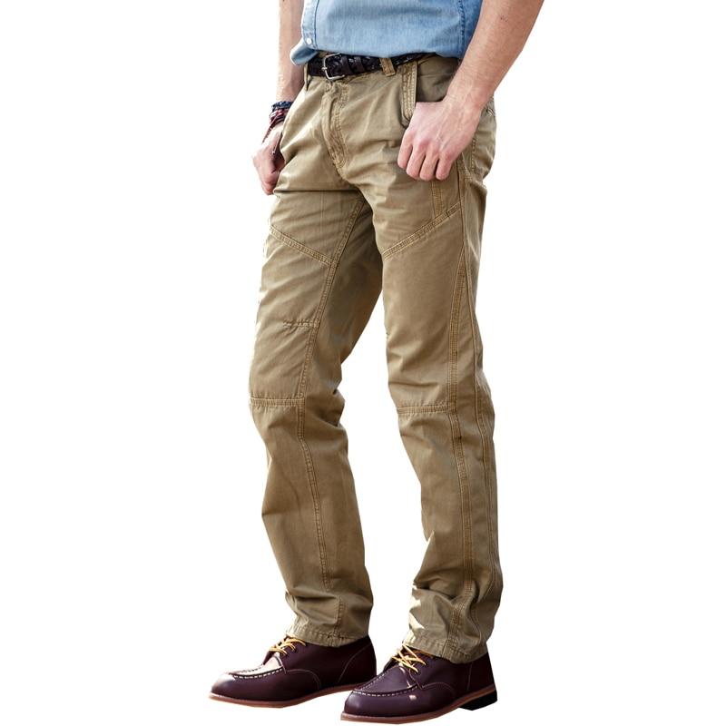 Pantalon cargo cargo multi-poches pour hommes en coton décontracté 5 couleurs 29-38 JPCK09