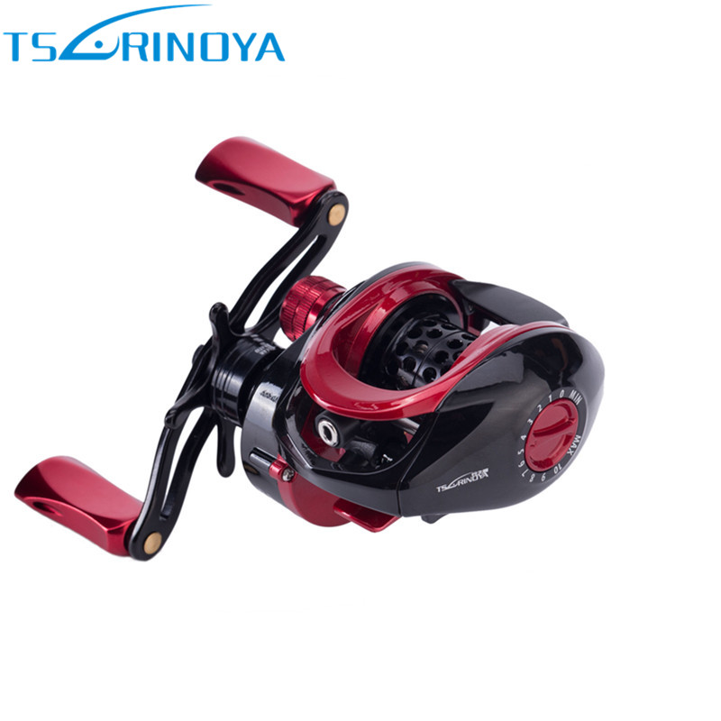Tsurinoya Bait Casting Fishing Reel 9+1BB 6.6:1 Right Left Hand Baitcasting Reel Carretilha De Pesca Moulinet Peche Fishing Coil kastking stealth 11 1bb carbon body right left hand bait casting carp fishing reel high speed baitcasting pesca 7 0 1 lure reel