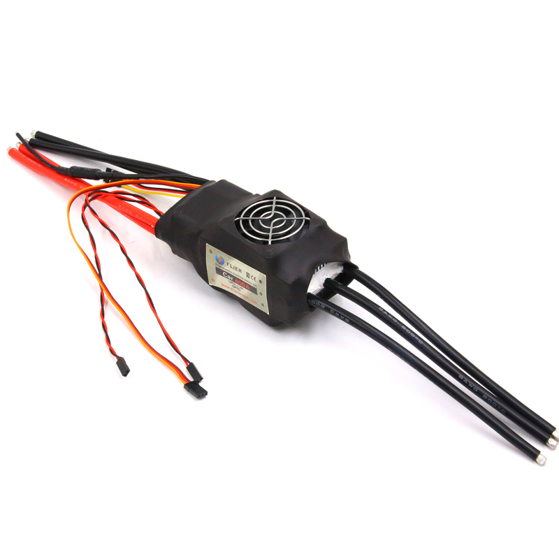 FATJAY FLIER 400A 3-16S High Voltage ESC Brushless  Speed Controller With USB Program Cable For RC Car