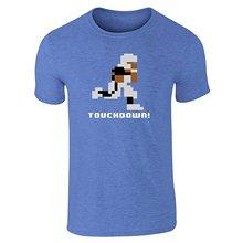 GILDAN 2017 Brand Tshirt Homme Tees Pop Threads Tecmo Bo 8-Bit Video Gaming Short SleeveMens Print T-Shirt 100% Cotton