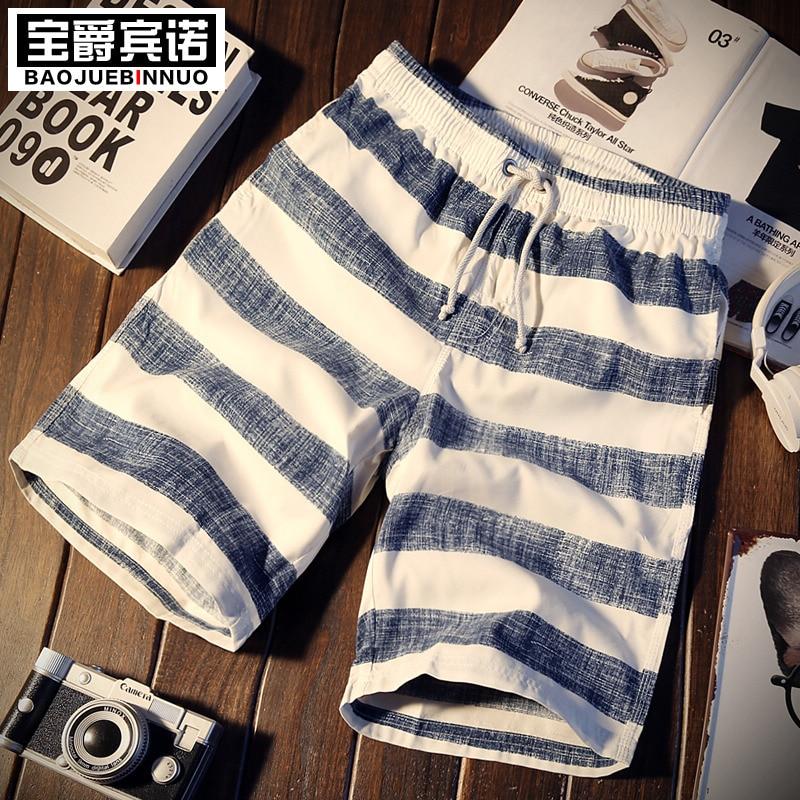 2018 fashion summer   shorts   loose quick-drying beach   shorts   Printed   shorts   trousers