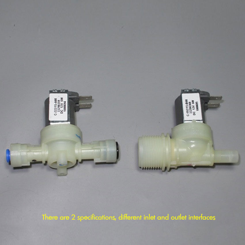 Solenoid Valve DC 12V 6W Normal Closed 12V Solenoid Valve Water Purifier Solenoid Valve Thread Connect / 6mm8mm Quick Connect