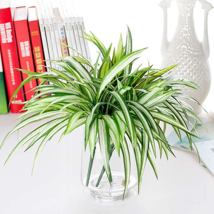artificial plants for decoration beautiful artificial chlorophytum Beautiful Fake Plants