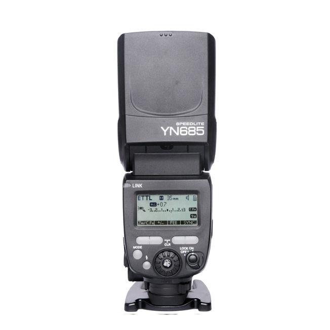 Image 2 - YONGNUO YN 685 YN685 Wireless HSS TTL Speedlite Flash Build in Receiver For Canon YN685 is YN 568EX II Upgraded version-in Flashes from Consumer Electronics