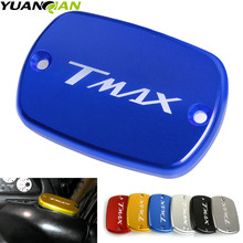 FOR YAMAHA Tmax 530 500 CNC Brake Fluid Reservoir Cap Cover For Yamaha T Max T-Max 2004-2011 2012 2013 2014-2016
