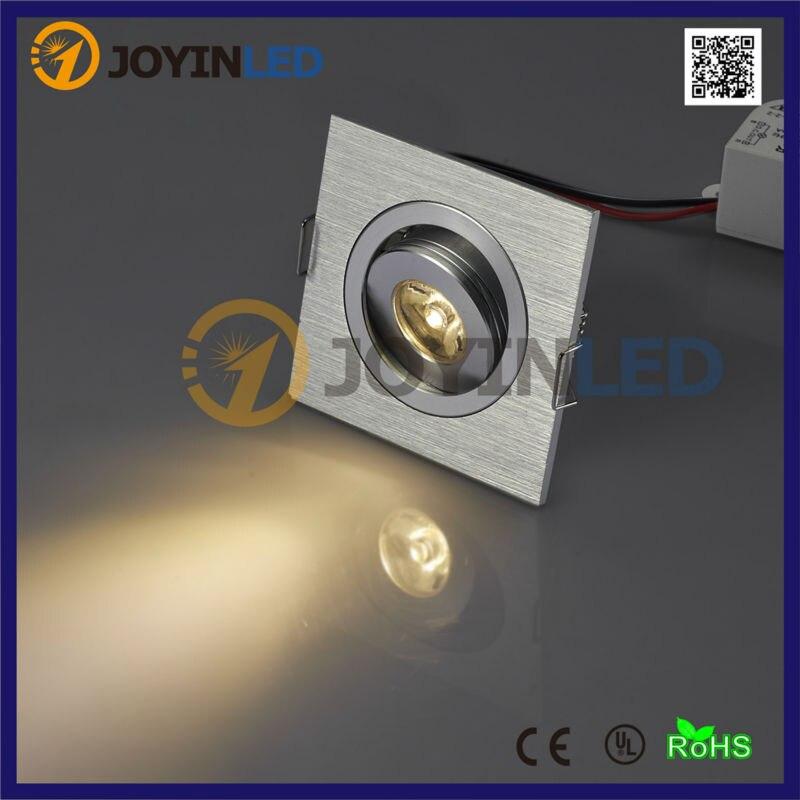 Затемнения высокая мощность светодиодный 3 Вт мини потолочный светильник AC85-260V встраиваемые светодиодные для дома