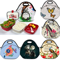 Nice Neoprene Lunch Bag Cooler Insulated Picnic Travel Lunch Box Tote For Women kids Handbag Thermal Box Food Container