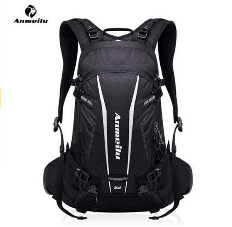 ANMEILU Women Men 20L Sports Bag Nylon Camping Outdoor Rucksack Cycling Hiking Travel Backpack Rain Cover