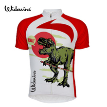 kill Dinosaur children Men Cycling Jersey Ouch Pattern Clothing Bicycle Top Jacket Bike Short Sleeve 5648