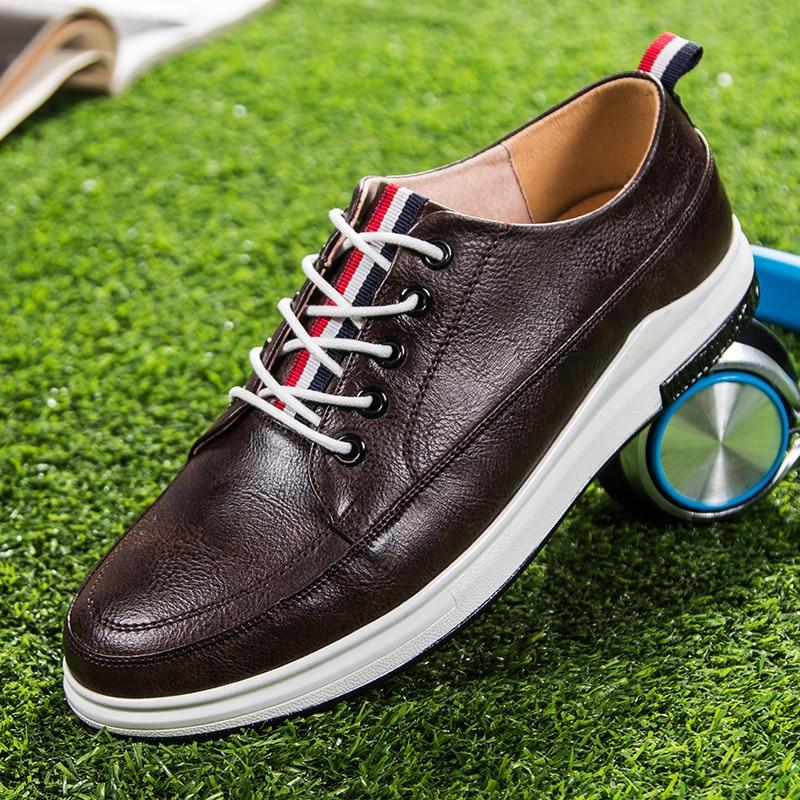 Lacent slip Noir Anti Hommes Chaussures Garçons blanc Air De Respirant Mode En Plein Marque marron Aa50108 Appartements qxYCU