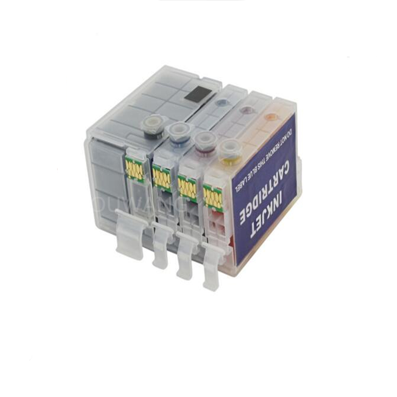 4sets T2701 T2711 27XL Refillable ink cartridges for for WorkForce WF7110 7610 7620 WF3620 WF3640 7110DTW 7610DWF printer
