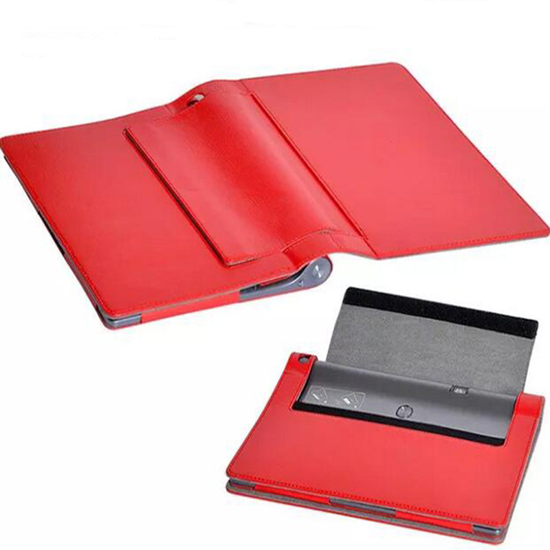 ocube Holder Full Protective PU Leather Case font b Cover b font For Lenovo Yoga font